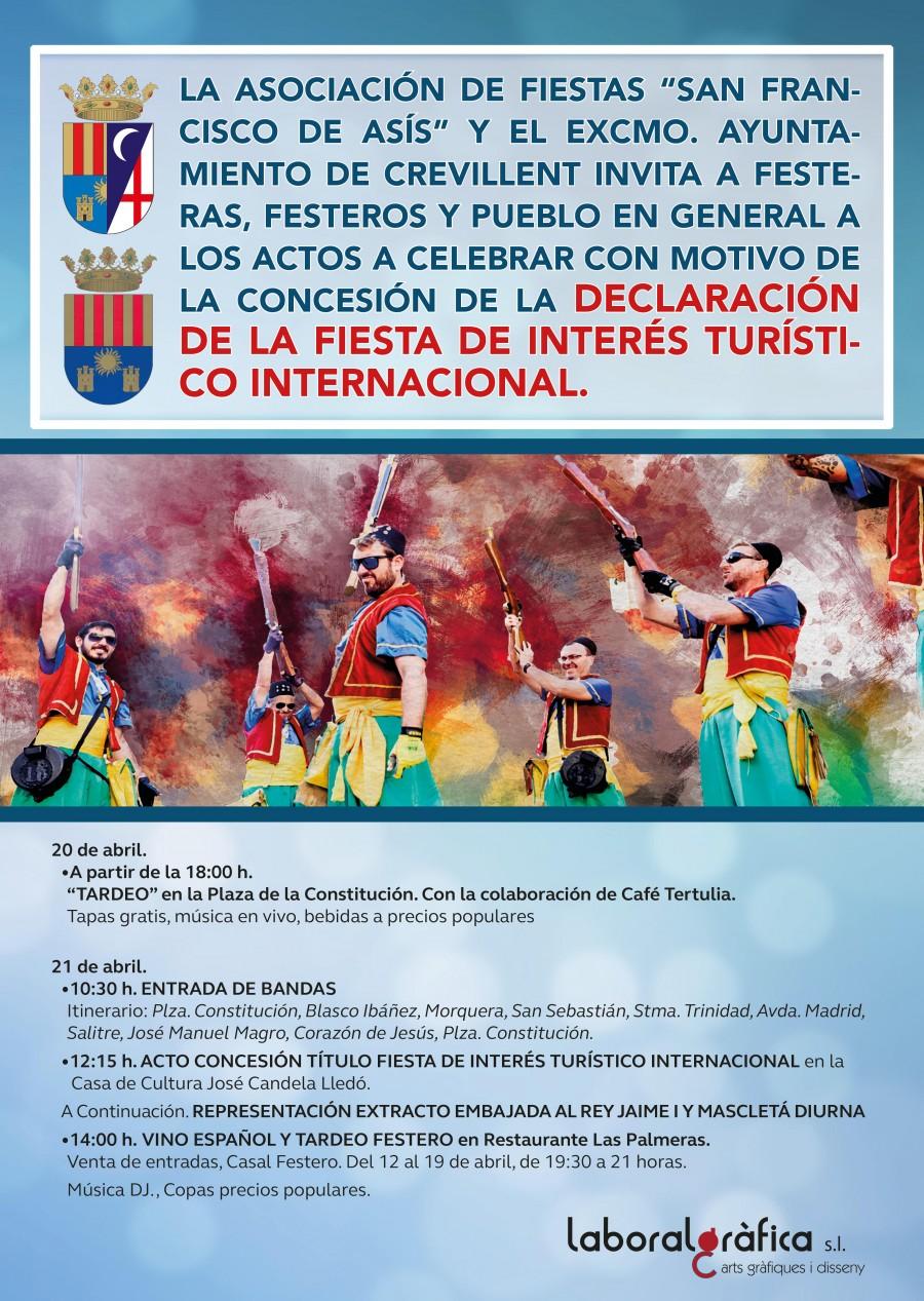 Concesión Fiestas Interés Turístico Internacional